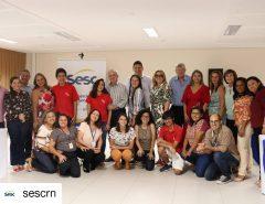 Prefeito de Macaíba, Dr. Fernando, prestigia evento no Sesc de Natal
