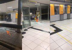 Bandidos explodem agência do Banco do Brasil em Campo Grande RN