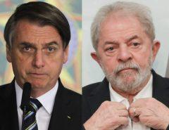 Pesquisa mostra empate técnico na disputa pela presidência em 2022