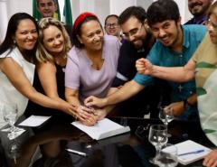 Governadora Fátima Bezerra anuncia a convocação de 600 novos professores para a rede pública estadual