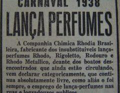 Lança-perfume já foi legalizado e teve fábrica em Recife: a história da droga que se tornou símbolo do carnaval