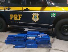 PRF persegue carro da Paraíba e apreende 91 quilos de maconha em Mossoró
