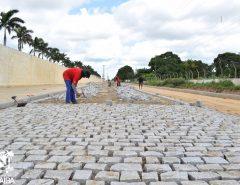 Em Macaíba, importante estrada da zona rural ganha pavimentação após TAC