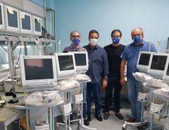 Coronavírus: Empresários recuperam e entregam respiradores ao Hospital Giselda Trigueiro