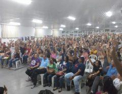 Greve: Professores de Natal aprovam indicativo de greve e marcam ato em frente à Prefeitura