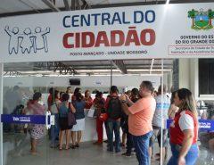 RN: Centrais do Cidadão mudam horário de atendimento