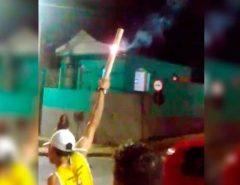 Festa de facção na noite de ontem em Macaíba