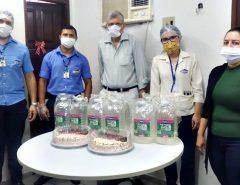 Macaíba: Prefeitura recebe doação de álcool em gel
