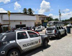 Fotos: Fiscalização contra aglomeração de pessoas em Macaíba nesta sexta