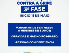 Terceira fase da campanha contra a gripe começa em Macaíba