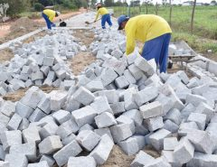 Macaíba: Lagoa do Lima recebe obra de pavimentação