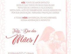 Mensagem do prefeito Fernando Cunha para o Dia das Mães 2020