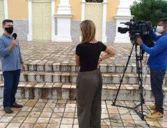 Secretário da SEMURB de Macaíba explica medidas de isolamento em entrevista à TV