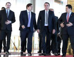 Jair Bolsonaro organiza reunião com Maia, Alcolumbre, Toffoli e governadores