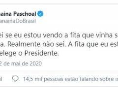 Efeito Contrario: Vídeo de reunião 'reelege' Bolsonaro, diz Janaina Paschoal