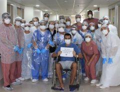 Nas últimas 24h, Brasil registra mais de 2 mil pacientes recuperados da covid-19, total é de 42.991