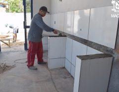 Macaíba: Obras da Creche Proinfância do distrito de Cajazeiras avançam
