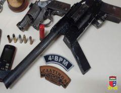 Em Natal polícia prende trio e apreende armas na zona Norte