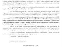 Urgente: Juiz cancela eleição da Câmara que elegeu Dadaia e Antônio assume, mas uma nova eleição será marcada para daqui há 10 dias