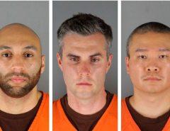 CADEIA: Juiz define fiança para três dos policiais acusados por assassinato de George Floyd: US$ 1 milhão