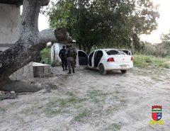 Polícia Militar localiza desmanche de veículos em EXTREMOZ-RN.