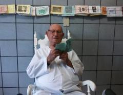 Despedida: 'Uma vida feliz', diz neta de idoso de 106 anos morto por complicações da Covid-19 em Mossoró