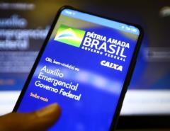 DINHEIRO: Mais 2,43 milhões recebem novo auxílio emergencial neste domingo