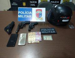 Polícia Militar apreende duas armas de fogo em Macaíba/RN