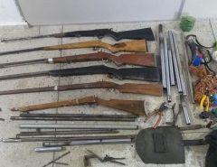 Em Bento Fernandes Polícia desarticula fábrica clandestina de armas de fogo
