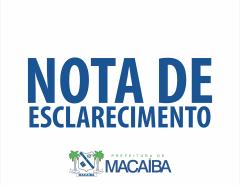 Nota de esclarecimento da Prefeitura: abrigo para pessoas em situação de rua em Macaíba
