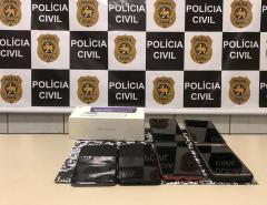 Em Mossoró, Polícia Civil apreende celulares que foram furtados ou roubados