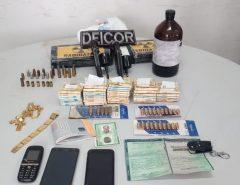 Em Mossoró Polícia Civil prende dono de loja de veículos suspeito de integrar facção criminosa com drogas e armas