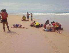 Nove pessoas da mesma família são vítimas de afogamento em Búzios