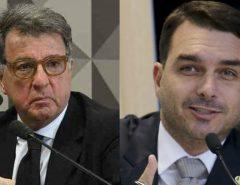 MPF marca acareação entre Flávio Bolsonaro e Paulo Marinho