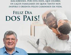 Mensagem do Dia dos Pais do prefeito Fernando Cunha