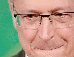 Tensão: Justiça determina sequestro de bens de Geraldo Alckmin