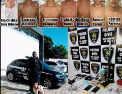Cadeia: Operação conjunta das Polícias Civil e Militar resulta em prisões e apreensões de ilícitos em Assu no RN
