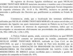 Esquema: Helder Barbalho foi 'essencial' para 'empreitada criminosa' no Pará, diz Falcão