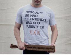 COM ELE O JOGO É BRUTO: Styvenson segura a madeira contra a corrupção