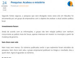 PAPA FIGO: Veja com detalhes a matéria que o Senadinho não publicou
