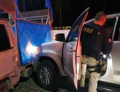 Carro palanque do candidato Emídio Jr. é atingido por outro veículo