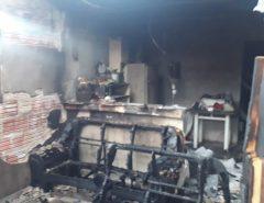 Herói: Vizinho estoura grade de janela e salva bebê de incêndio em SP