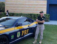 Famosos: Ex-Loira do Tchan vira agente da Polícia Rodoviária Federal