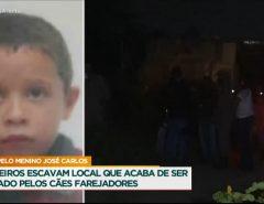 Triste: Corpo de criança encontrado enterrado na Zona Norte de Natal é do menino José Carlos da Silva, de 8 anos