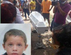 Corpo de José Carlos de 08 anos será enterrado hoje