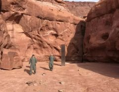 Mistério: Peça de metal misteriosa é achada no deserto nos EUA