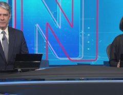 DELEGACIA: Apresentadores do Jornal Nacional são intimados a depor pelo caso Queiroz
