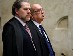 """NA MIRA: Lava Jato queria prender Gilmar Mendes e Toffoli, diz hacker da """"Vaza Jato"""""""