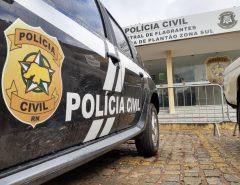 """CADEIA: Polícia Civil deflagra Operação """"Gás de Sangue"""", prende cinco suspeitos e desarticula milícia armada atuante em Parnamirim"""