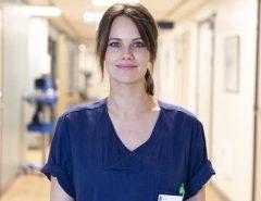Princesa sueca foi voluntária em hospital durante pandemia